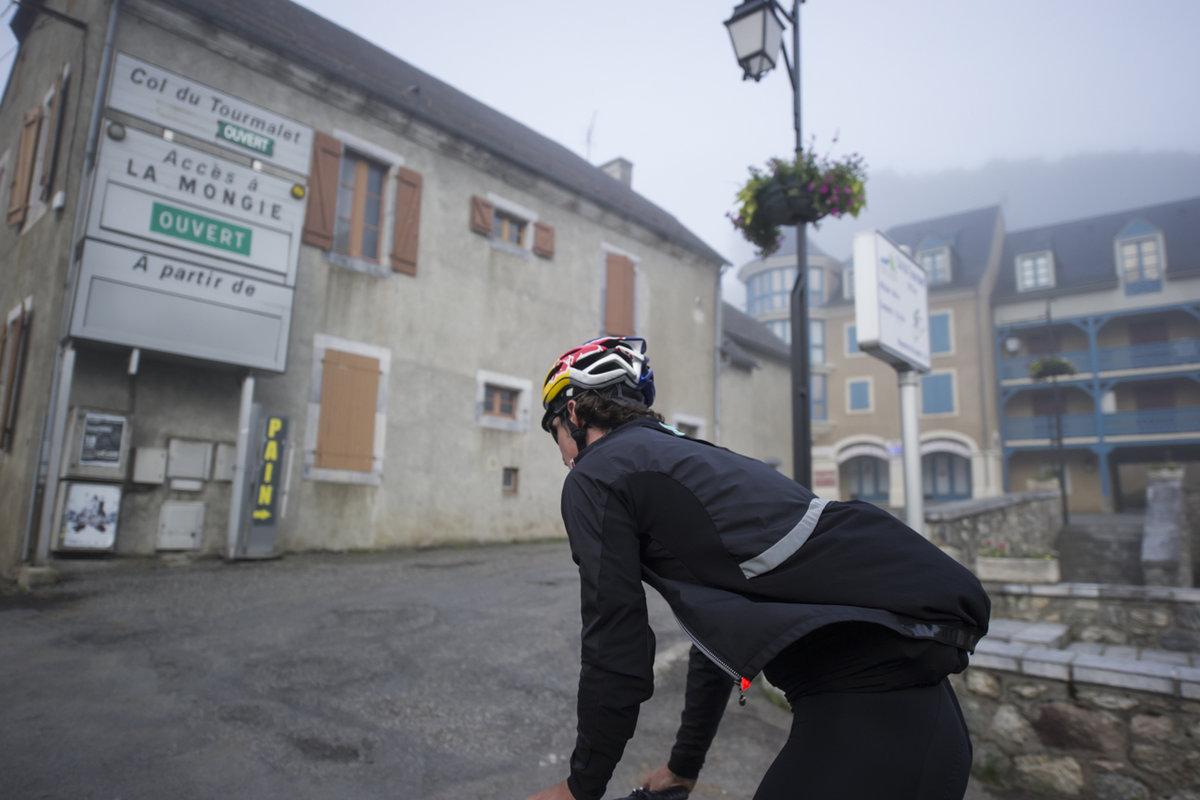Les premiers kilomètres du Tourmalet