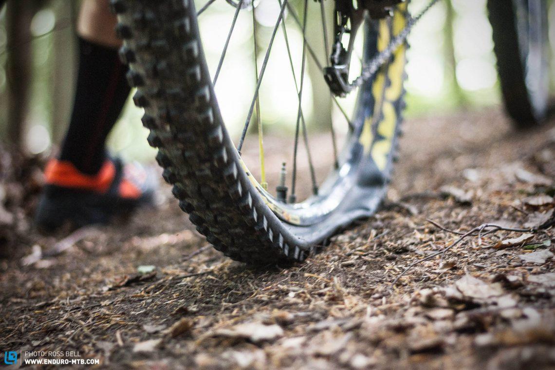 La bonne pression pour les pneus de VTT