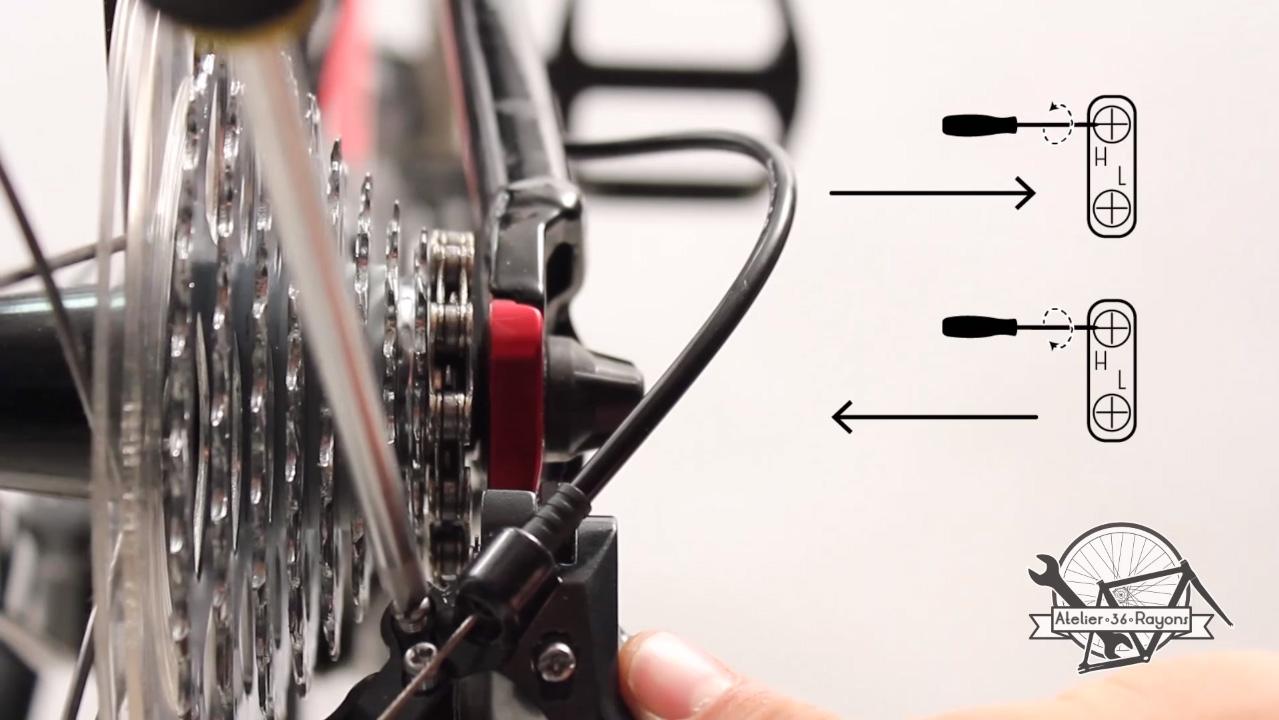 Réglage dérailleur arrière - Atelier36Rayons