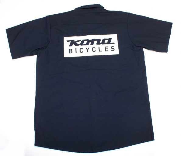 T-Shirt Work Navy Blue Kona