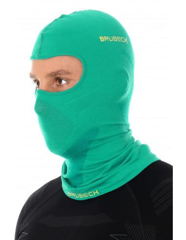 Brubeck - cagoule thermique unisexe Merinos verte homme