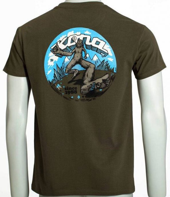 T-Shirt Freeweelin vert Kona